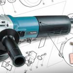 Makita 9564CV Grinder Brush Replacement (CB340)