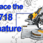 Dewalt DW718 Armature Replacement (N027083SV)