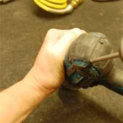 Remove Rear of Makita Drill